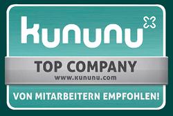 kununu - Top Company - Von Mitarbeitern empfohlen!